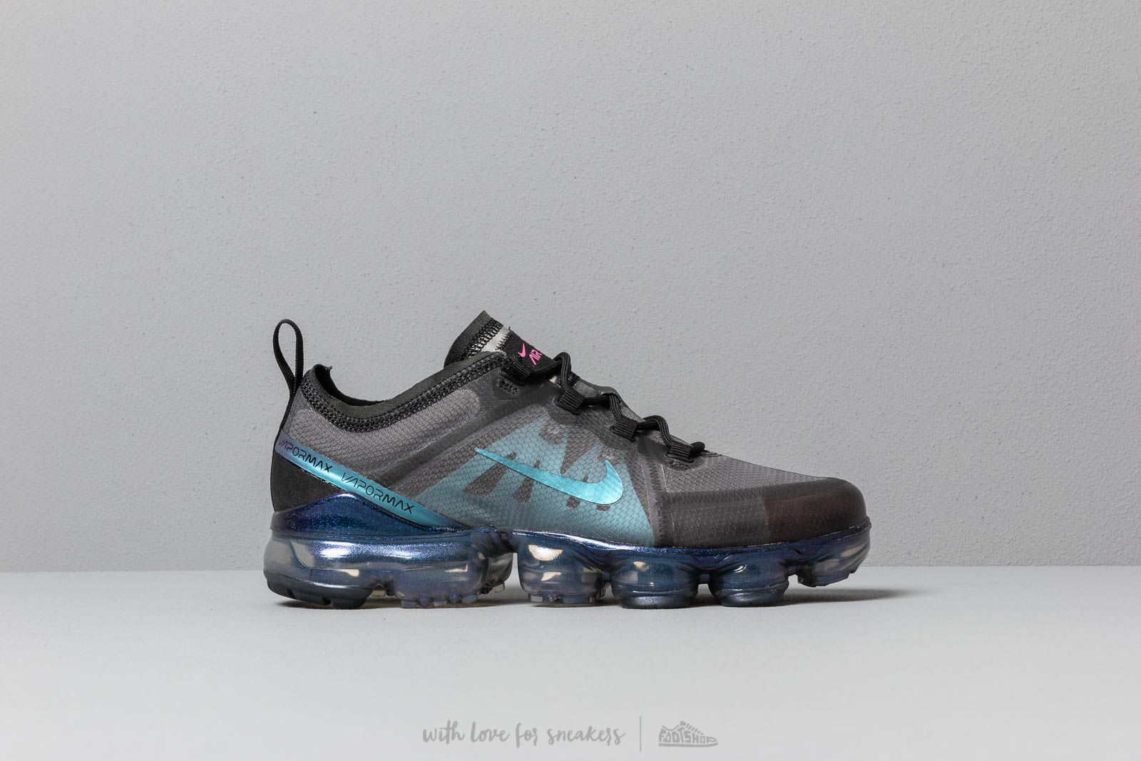 Nike Air Vapormax 2019 Gs Black Laser Fuchsia Anthracite Footshop