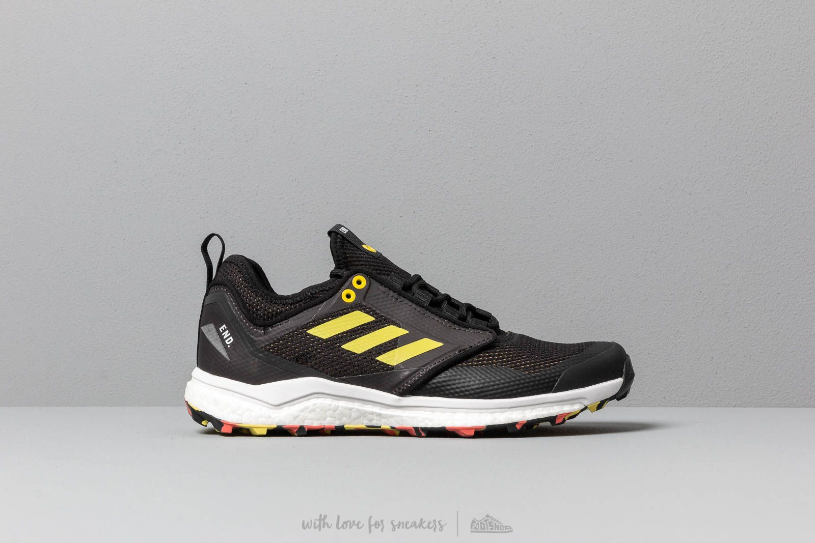 adidas Consortium x END. Terrex Agravic XT Black/ Red | Footshop
