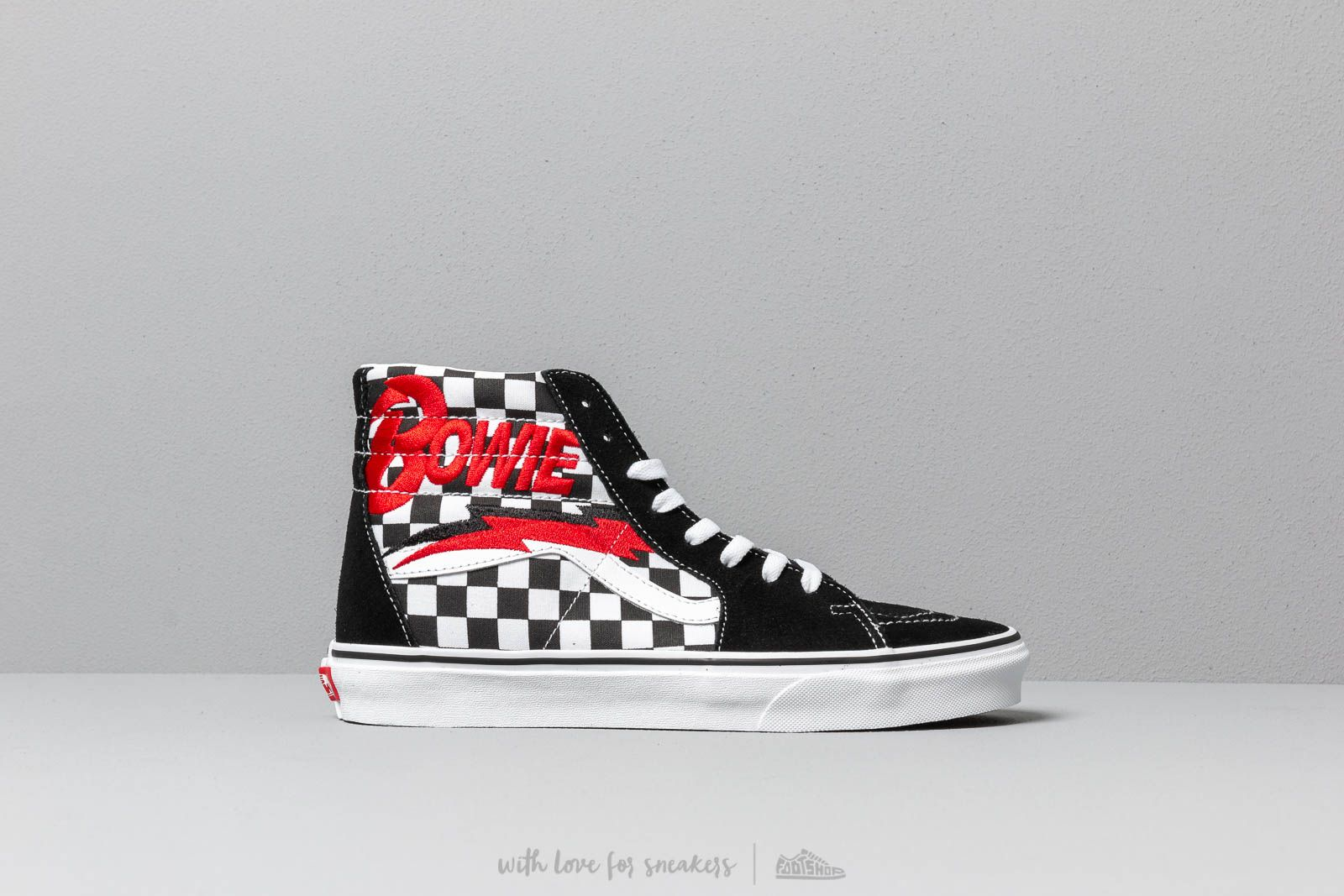 1e25b8358ff Vans SK8-Hi (David Bowie) Bowie  Checkerboardard at a great price 83