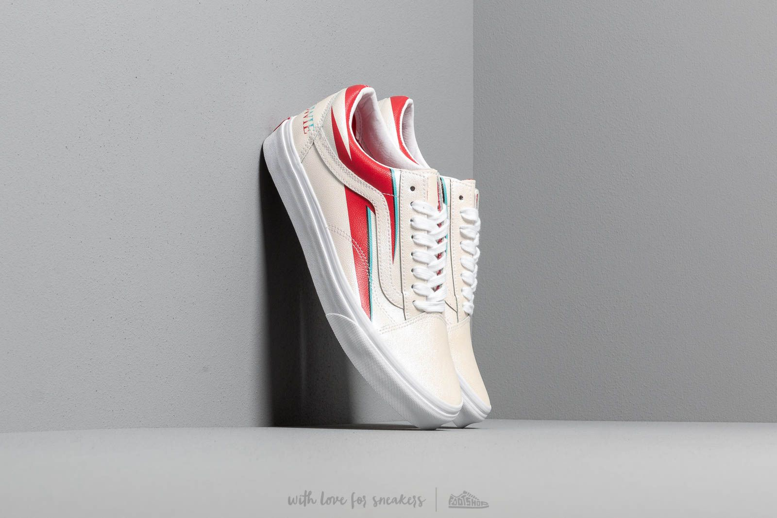 Vans Old Skool (David Bowie) Aladdin Sane/ True White at a great price 90 € buy at Footshop
