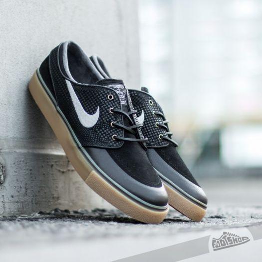 Nike Zoom Stefan Janoski PR SE Black Medium Grey Gym Light Brown | Footshop