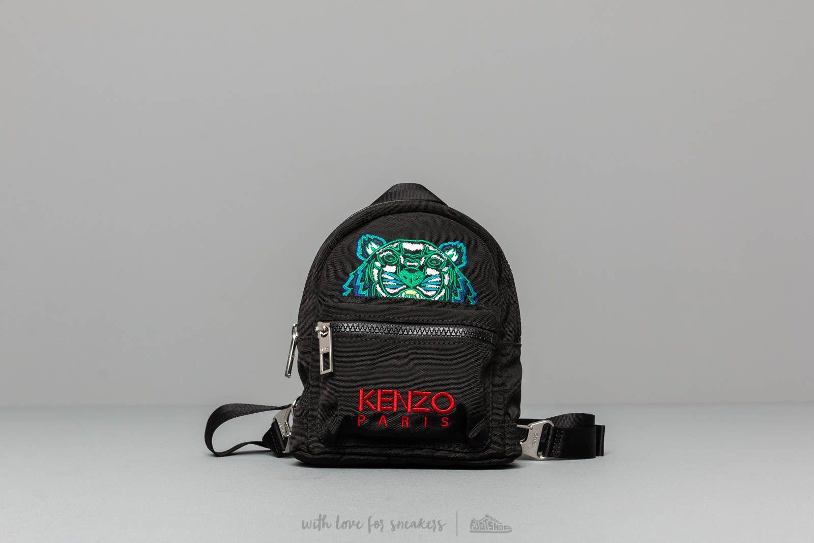 KENZO Mini Rucksack Black za skvelú cenu 147 € kúpite na Footshop.sk