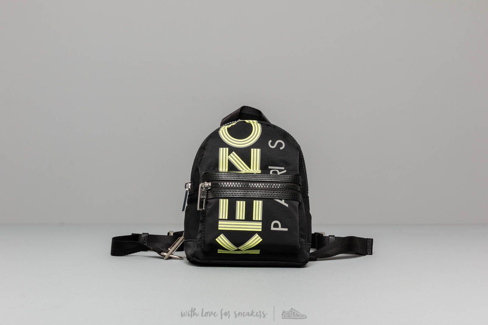 KENZO Mini Rucksack Black za skvelú cenu 159 € kúpite na Footshop.sk