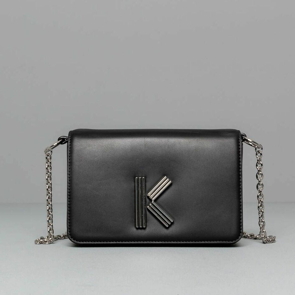 KENZO Shoulder Main Bag Black