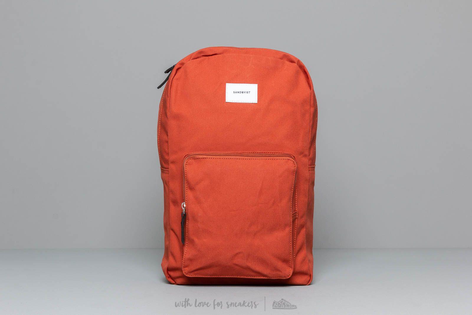 Sandqvist Ground Kim Laptop Backpack Rust za skvelú cenu 95 € kúpite na Footshop.sk