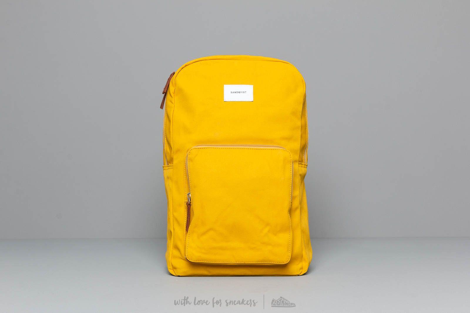 Batohy Sandqvist Kim Ground Backpack Yellow