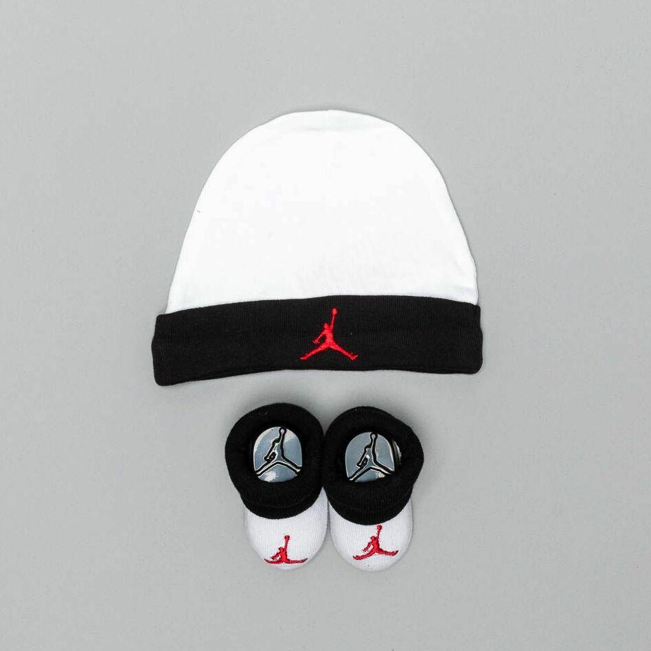 Jordan Infant Baby Set White/ Black