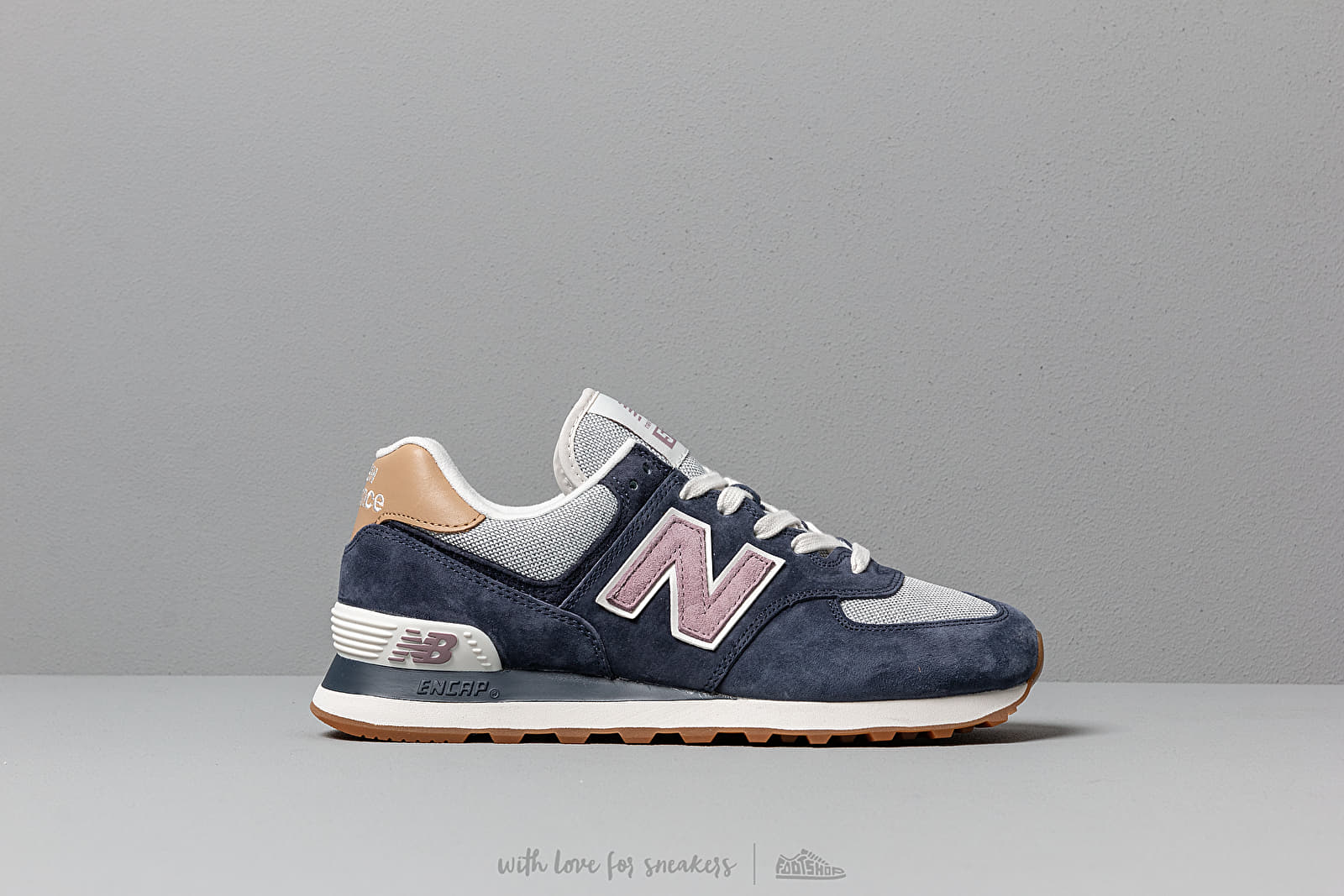 New Balance 574 Navy Cashmere | Footshop
