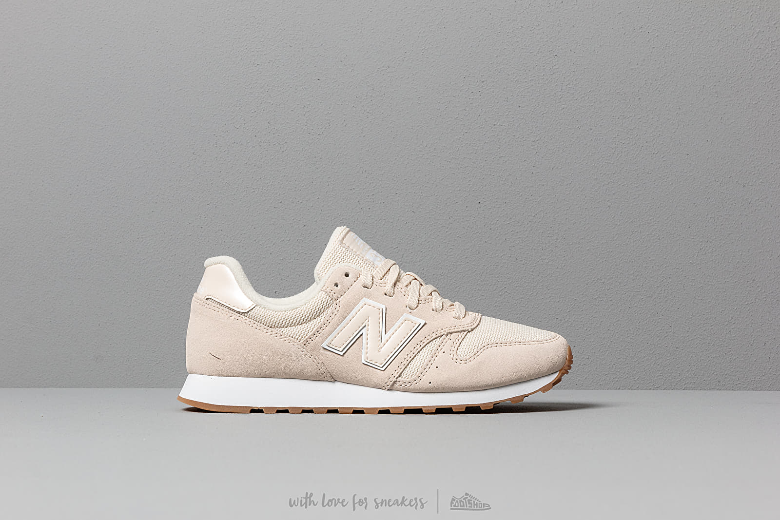 cheap for discount f4ca5 bd6a7 New Balance 373 Whitecap/ White | Footshop