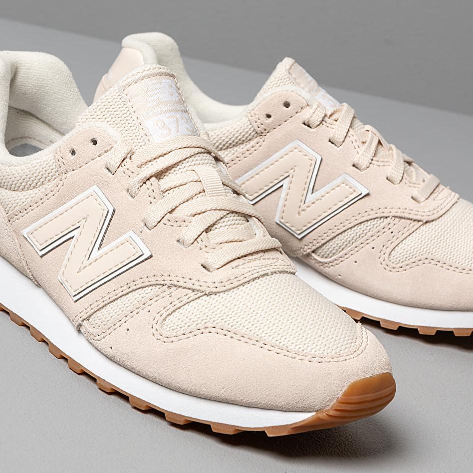 New Balance 373 Whitecap/ White, Pink