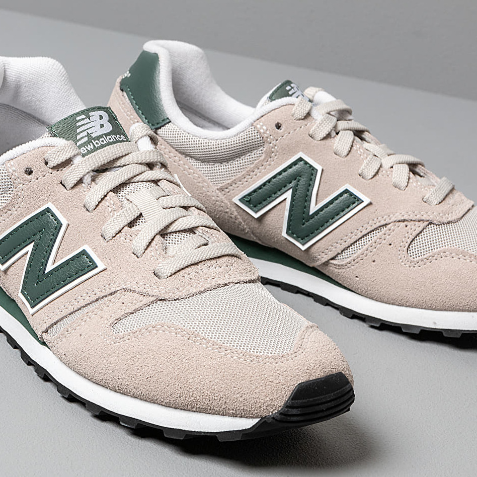 New Balance 373 Grey/ Green, Gray