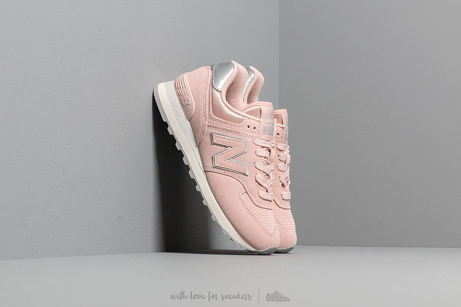 99388c7690c New Balance 574 Light Cashmere  Metallic Silver at a great price £76 buy at