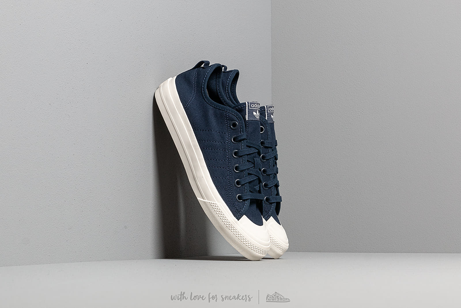 adidas Nizza Rf Collegiate Navy Collegiate Navy Off White | Footshop