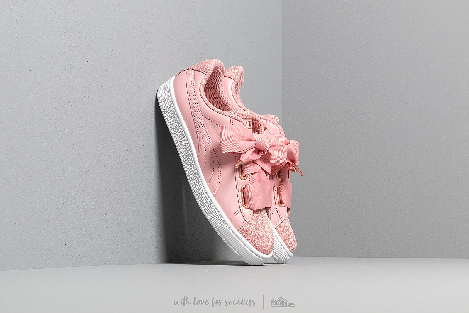 Puma Basket Heart Woven Rose Wn s