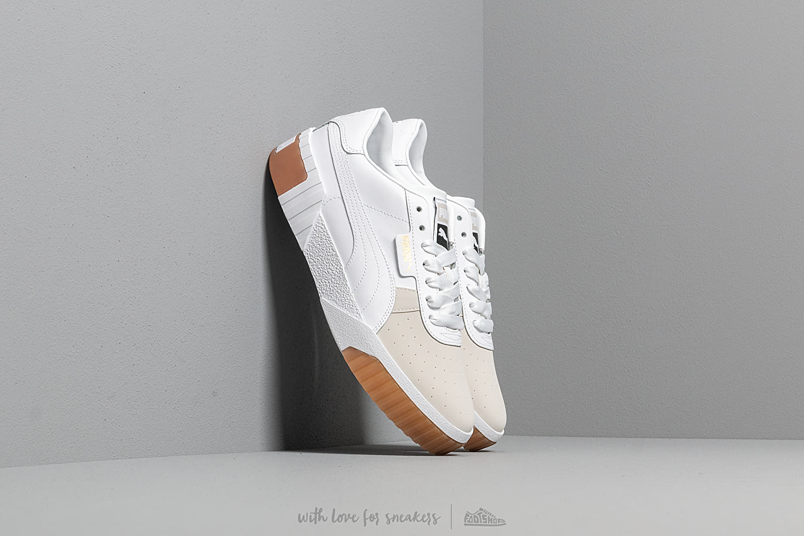 Puma Cali Exotic Wn s Puma White-Puma White at a great price 95 € buy at Footshop