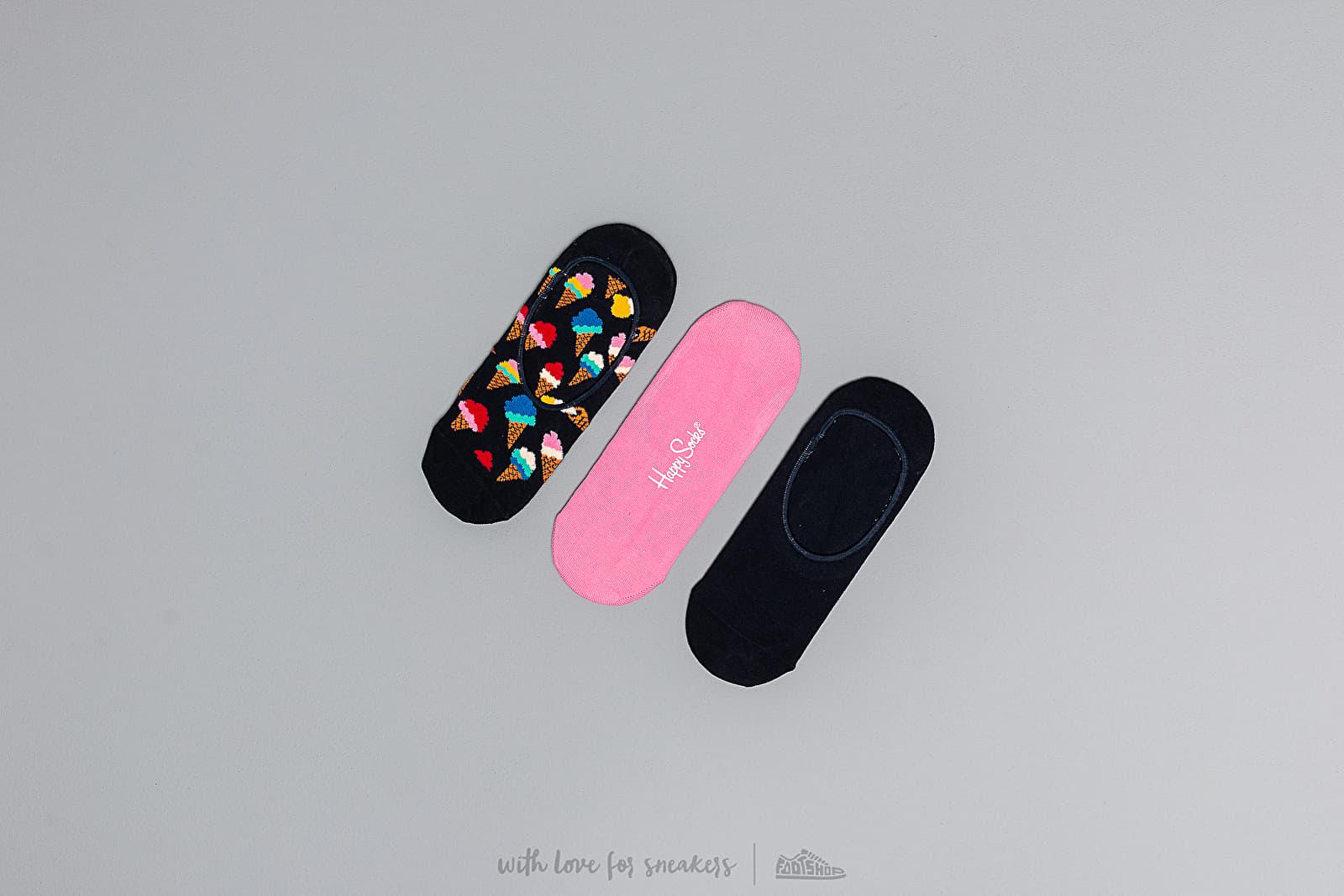 Happy Socks Icecream Liners 3-Pack Socks