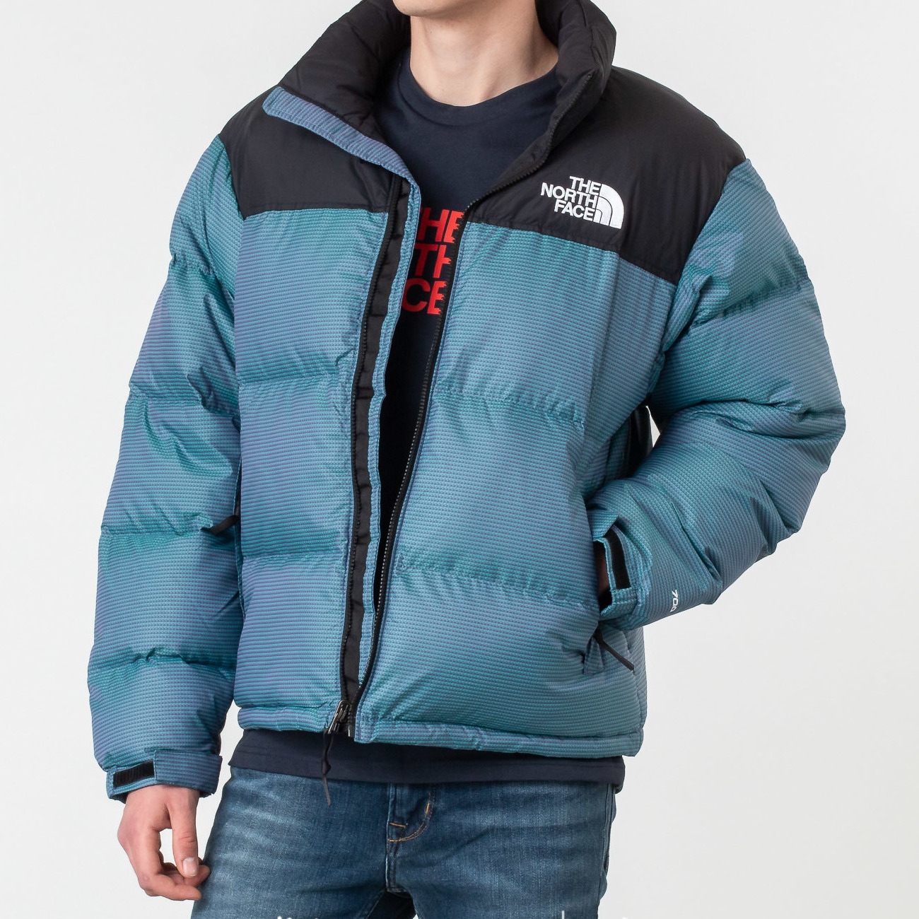 The North Face 1996 Nuptse Jacket Iridescent/ Multicolor