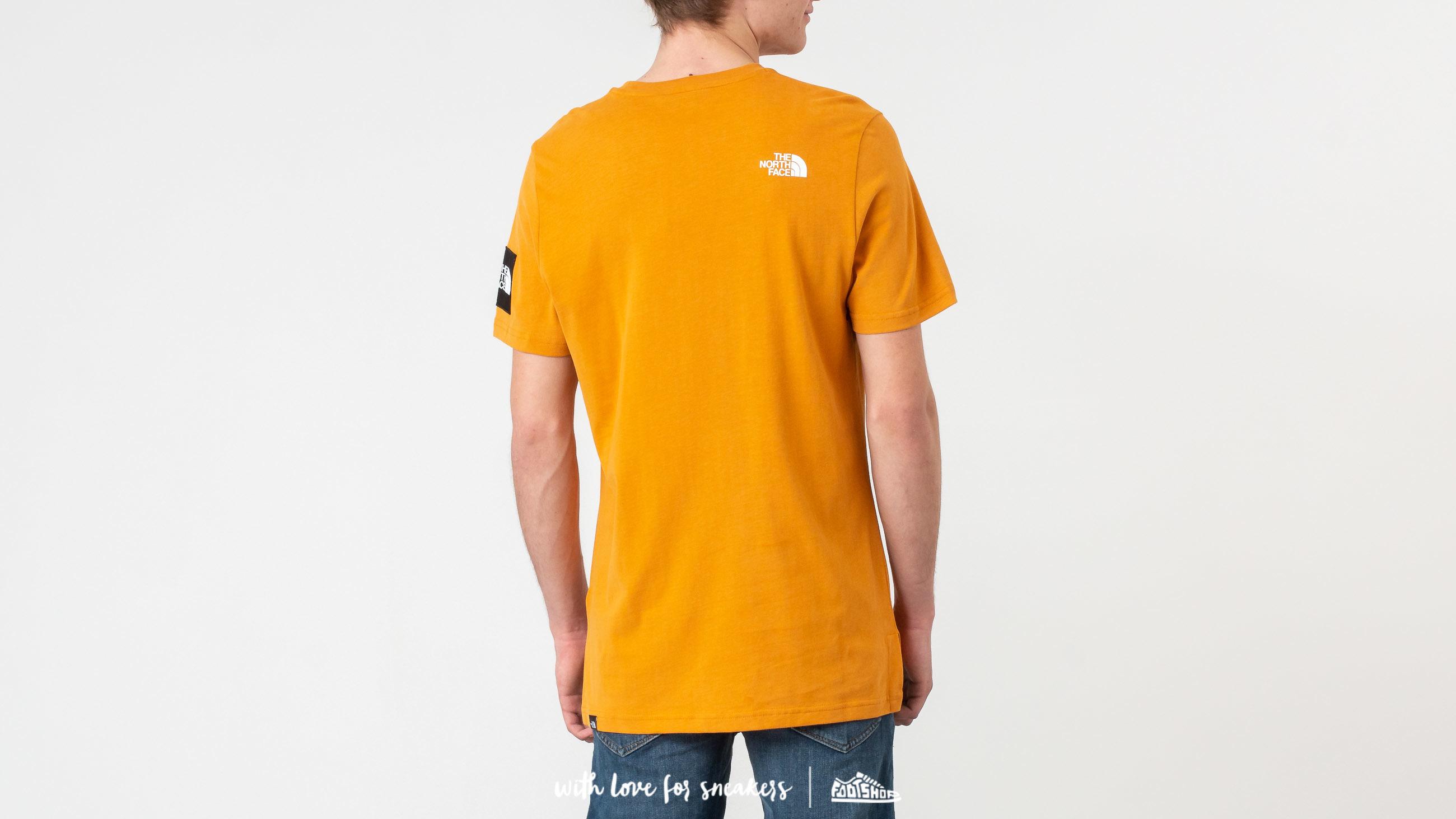 edf80de959 The North Face Fine 2 Tee Citrine Yellow au meilleur prix 33 € Achetez sur  Footshop