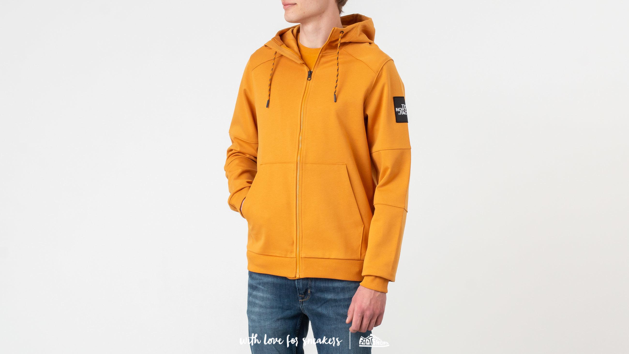 The North Face Fine Full Zip Hoodie Citrine Yellow W super cenie 575 zł kupuj na Footshop.pl