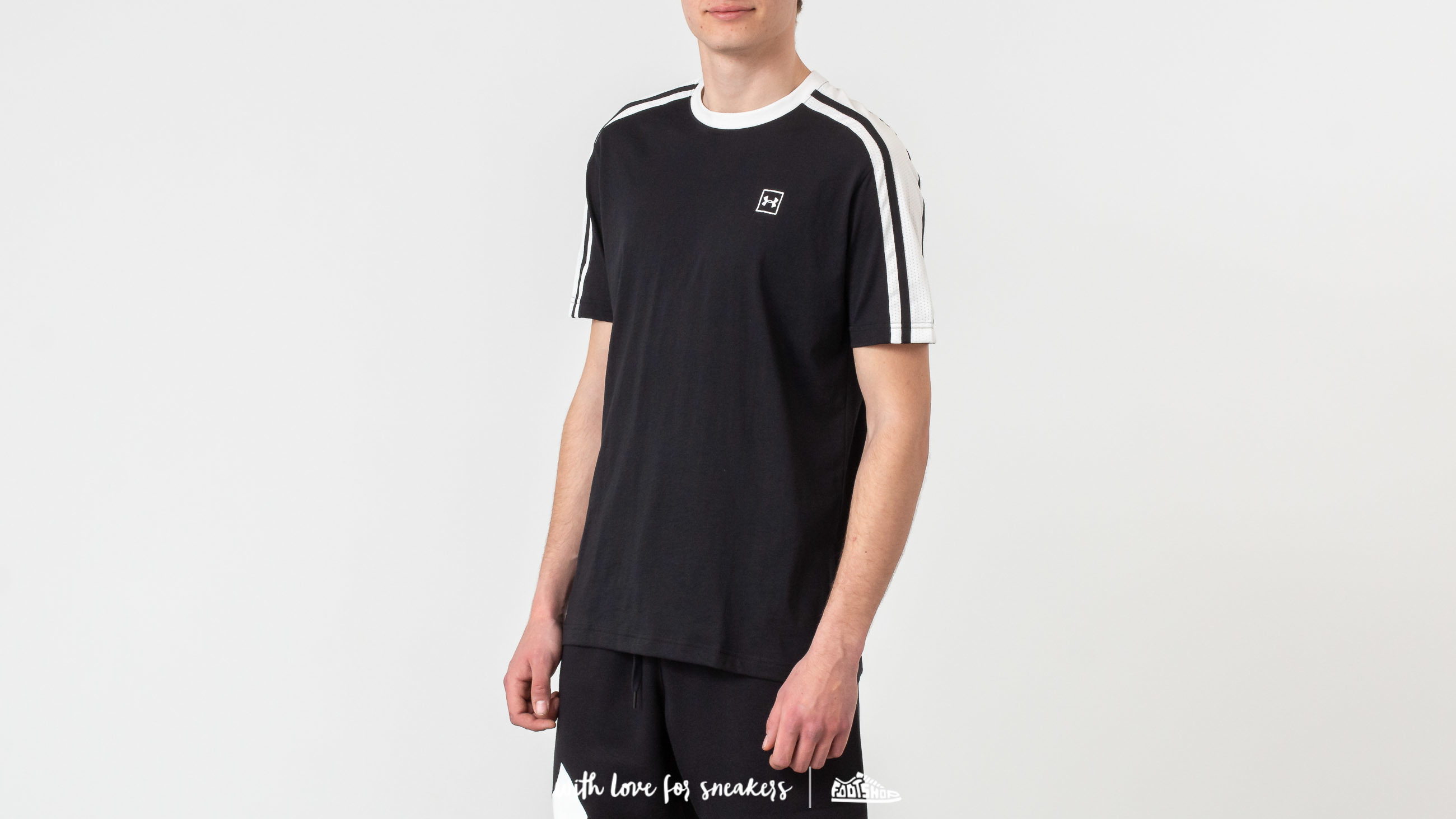 Тениски Under Armour Unstoppable Striped Tee Black