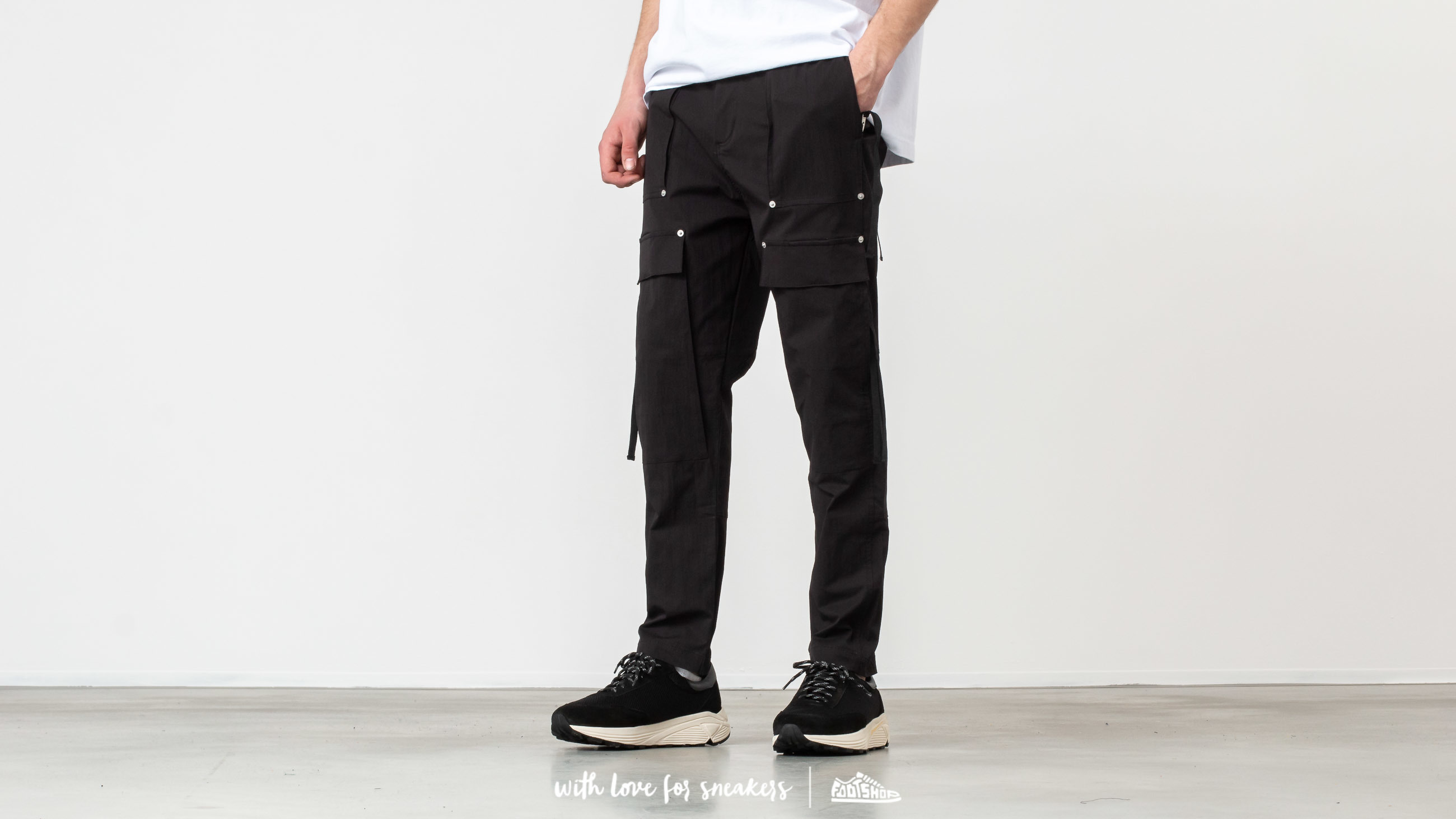 STAMPD Drill Cargo Crepe Pants