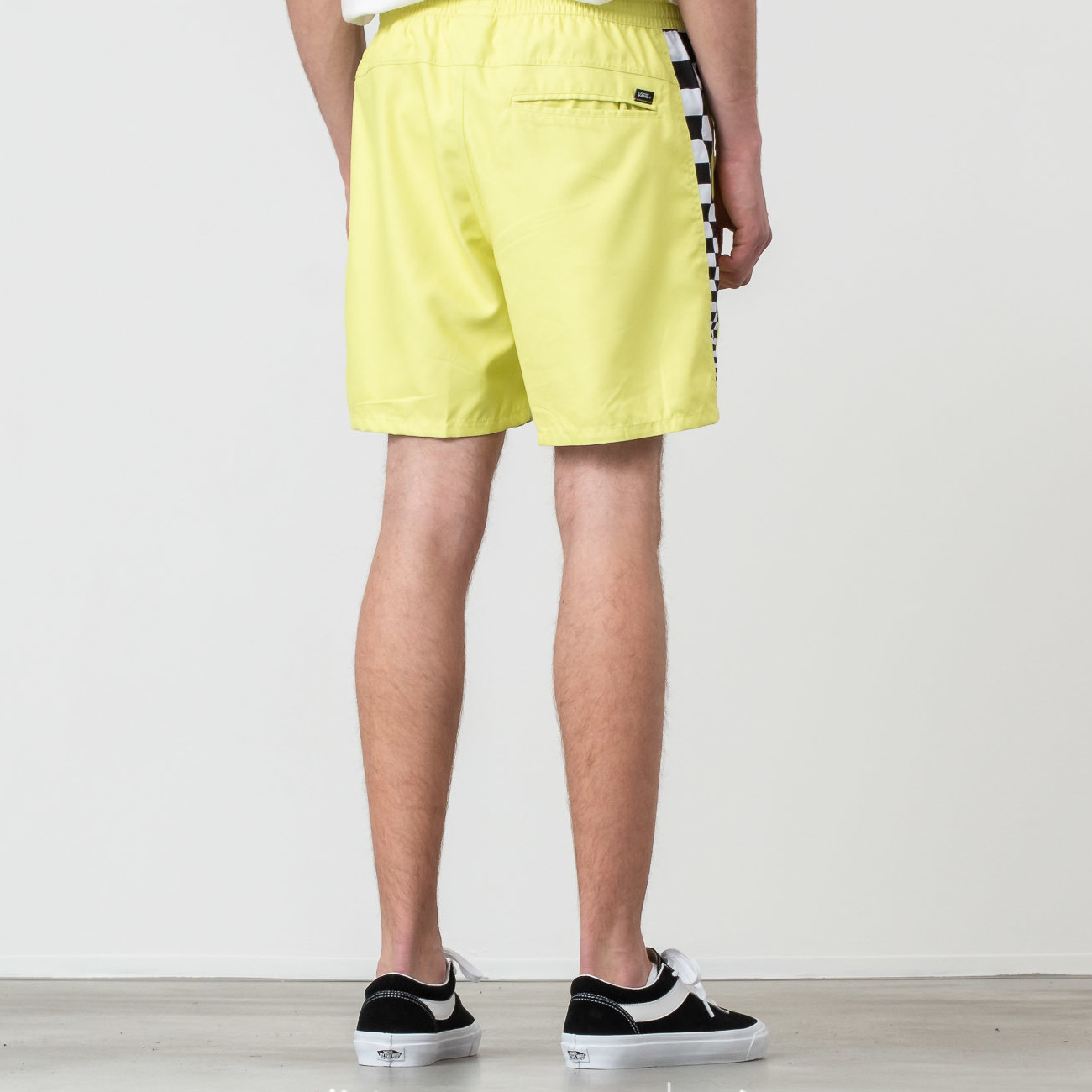 Vans V Panel Volley Boardshort Sunny Lime, Yellow