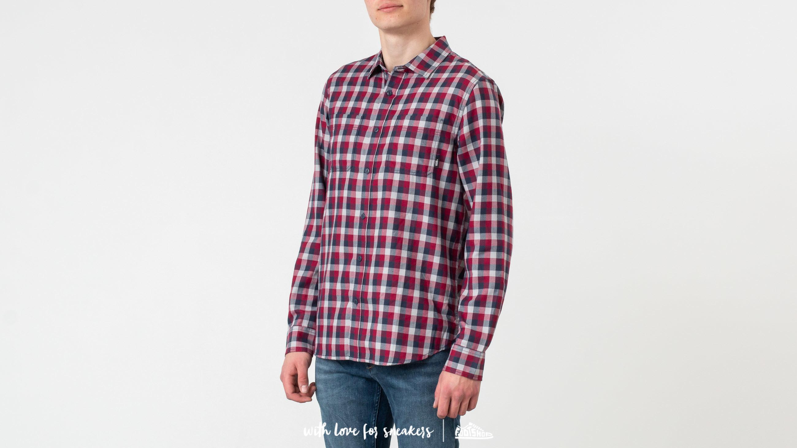 Vans Alameda II Shirt Rhumba Red/ Dress Blues at a great price 54 € buy at Footshop