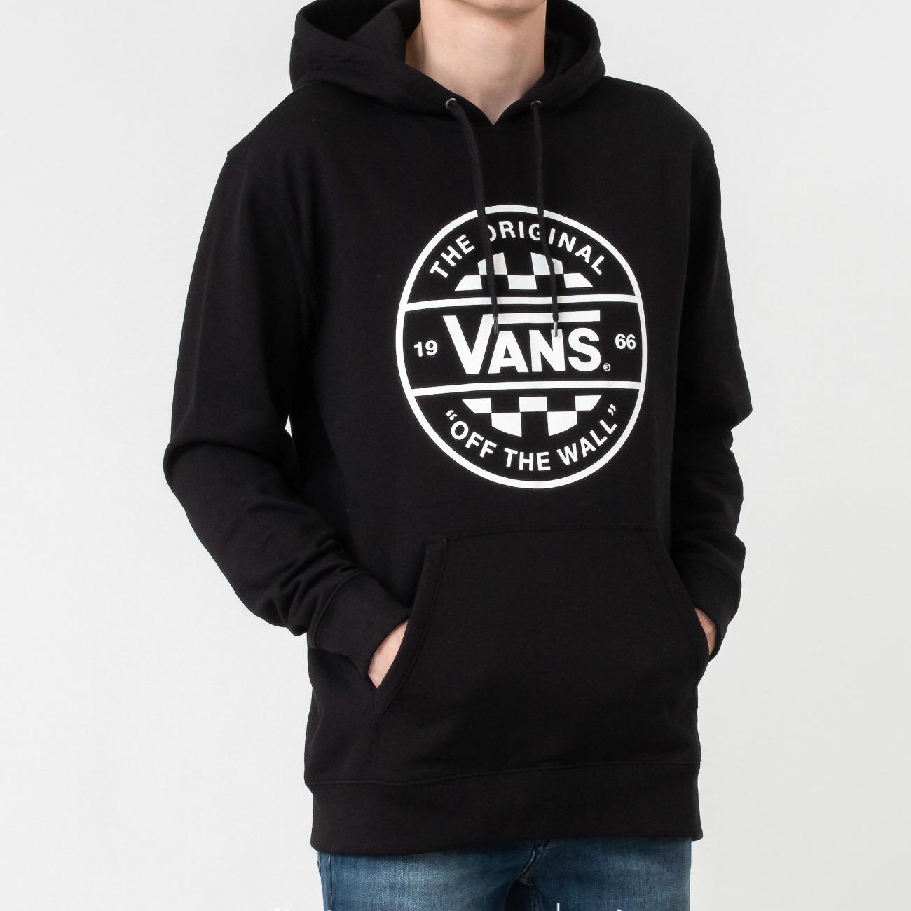 Vans Checker Co. Pullover Hoodie Black