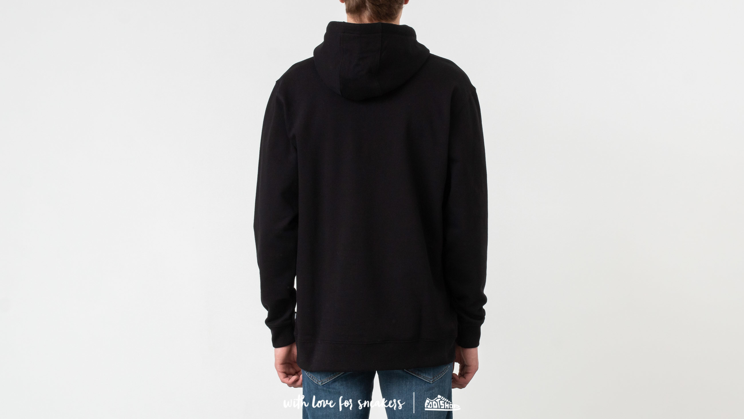 3ac25f004c Vans Checker Co. Pullover Hoodie Black at a great price £47 buy at Footshop