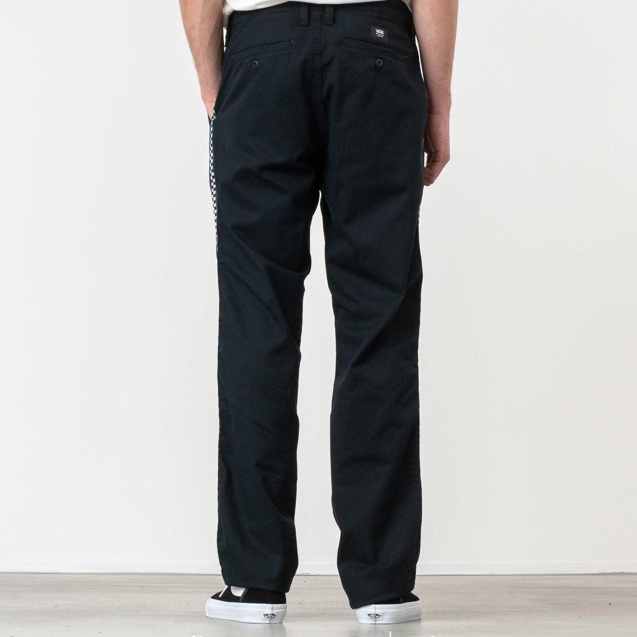 Vans Authentic Chino Pro Taped Pant Black/ Checkerboard