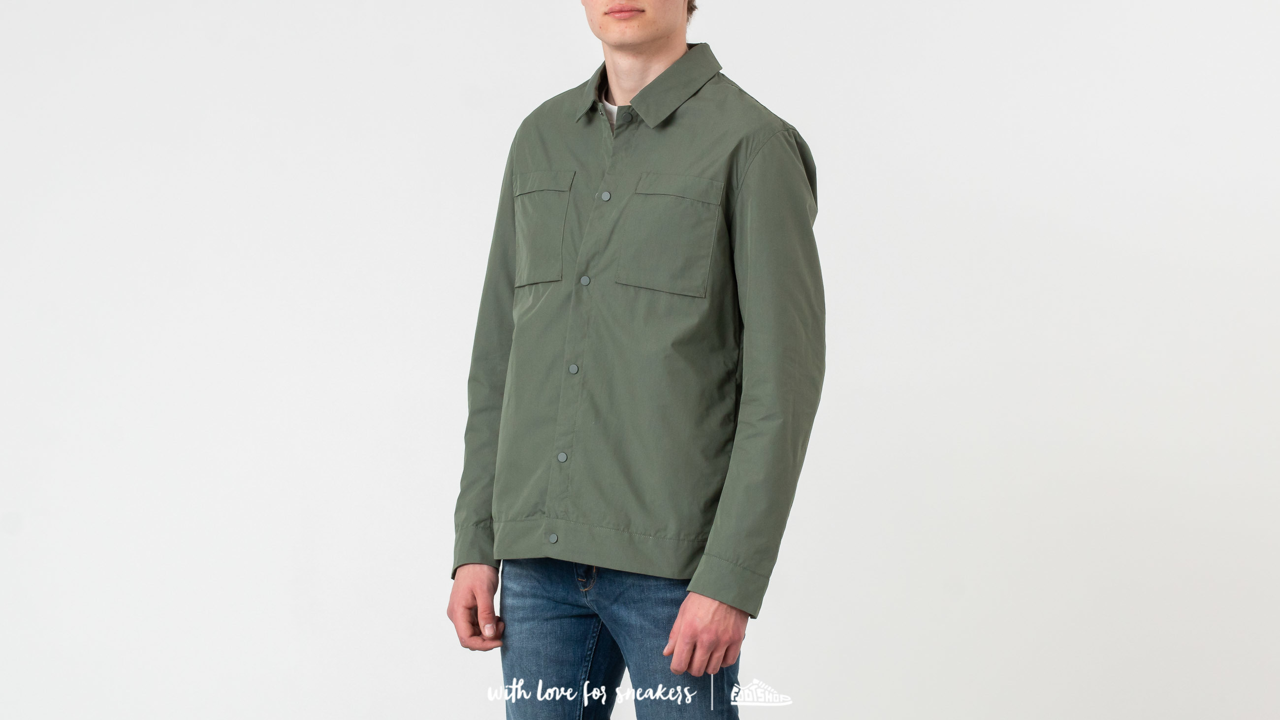 Giacche SELECTED Icon Shirt Jacket Thyme