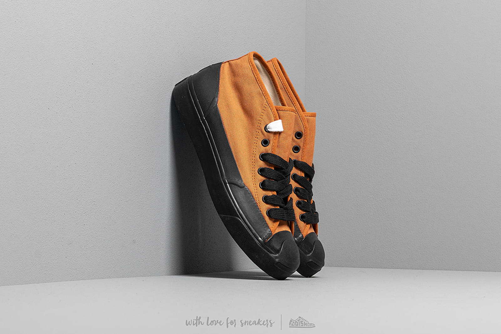 Converse x A$AP Nast Jack Purcell Chukka Mid Pumpkin Spice/ Black/ White at a great price 121 € buy at Footshop