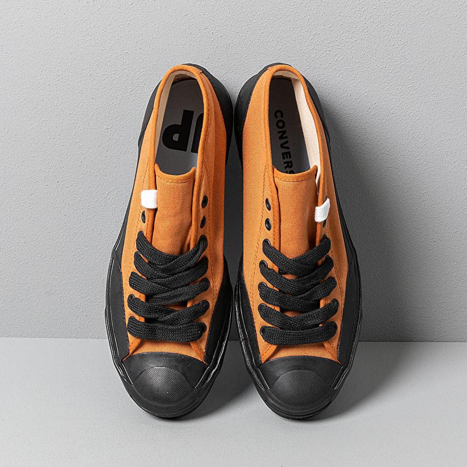 Converse x A$AP Nast Jack Purcell Chukka Mid Pumpkin Spice/ Black/ White, Brown