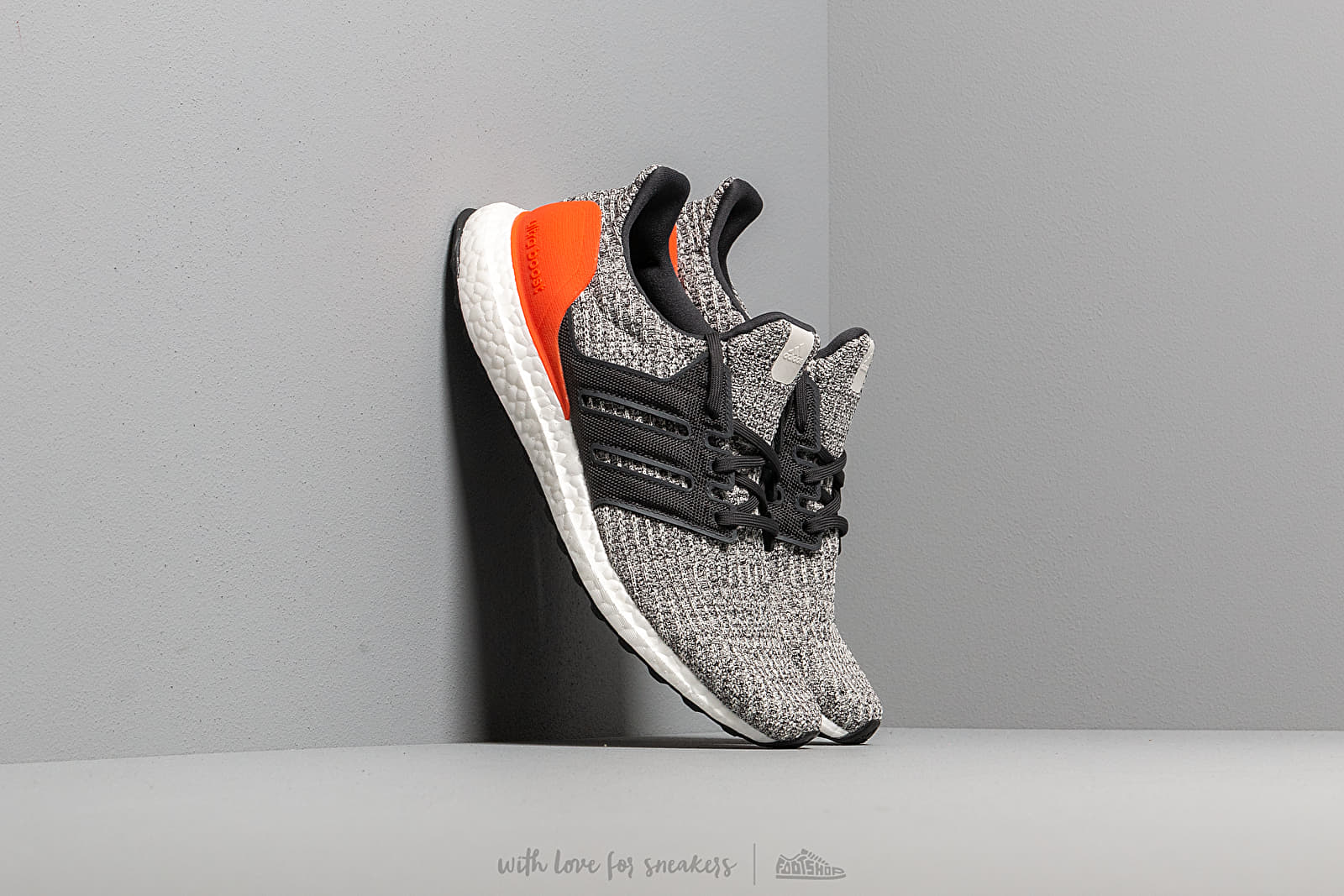 adidas UltraBOOST Raw White/ Carbon/ Active Orange at a great price 176 € buy at Footshop