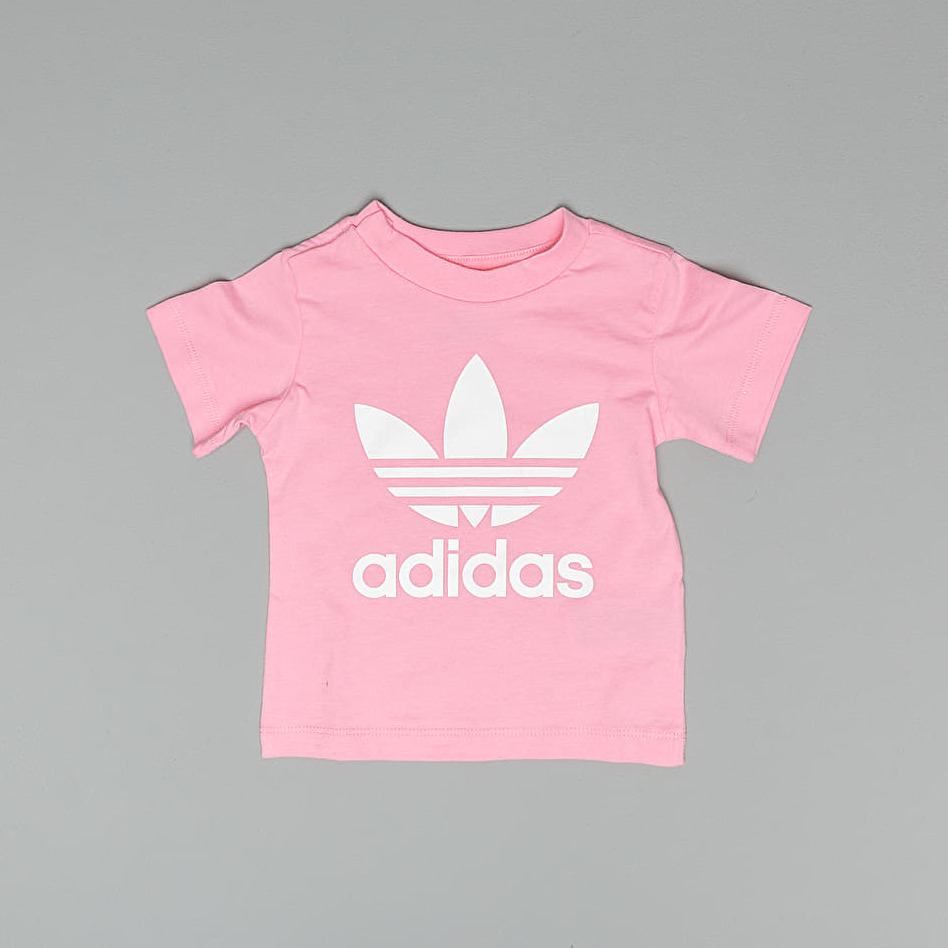 adidas Trefoil Tee Light Pink White