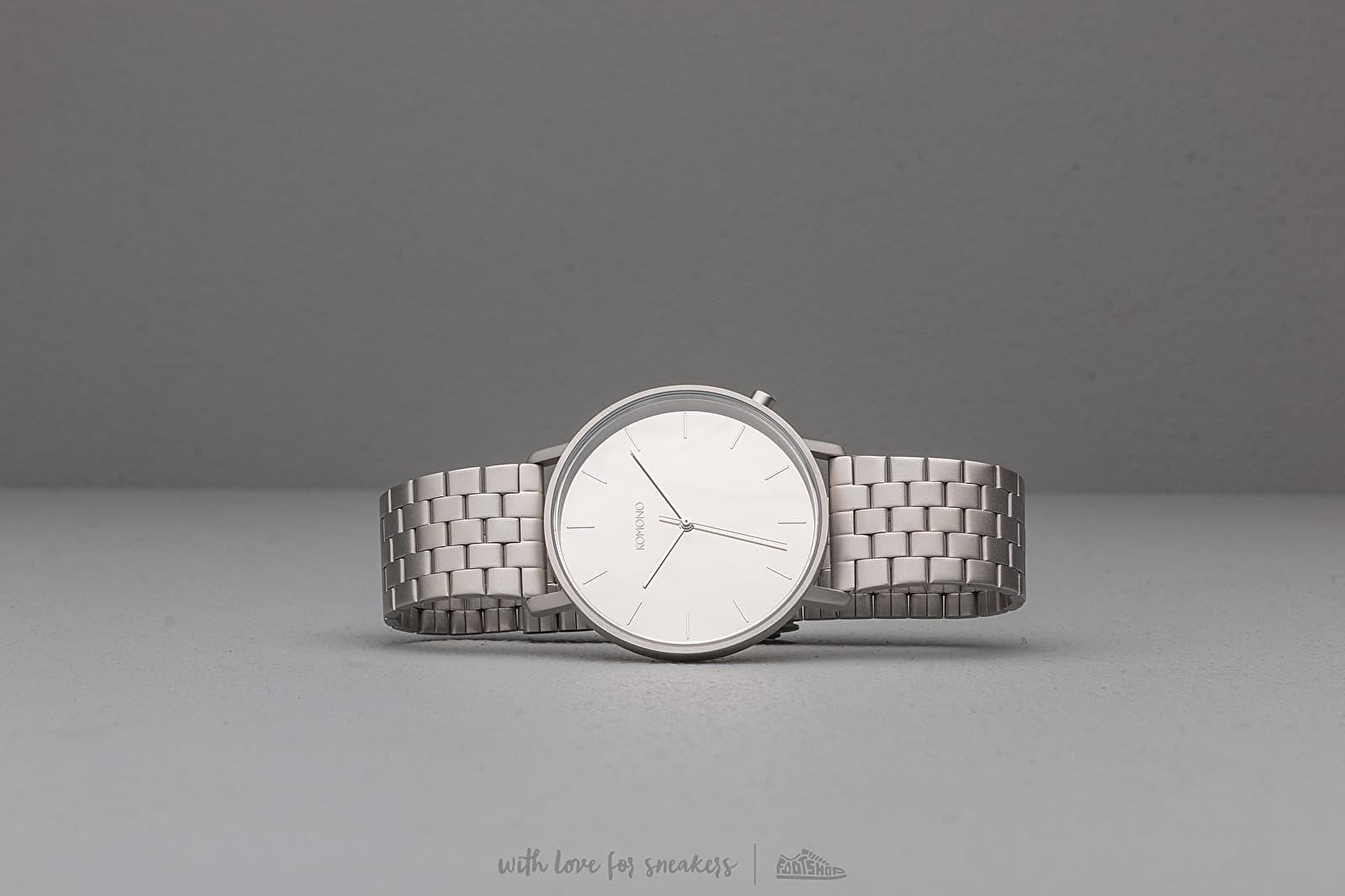 Watches Komono Lewis Estate Watch Silver Mirror
