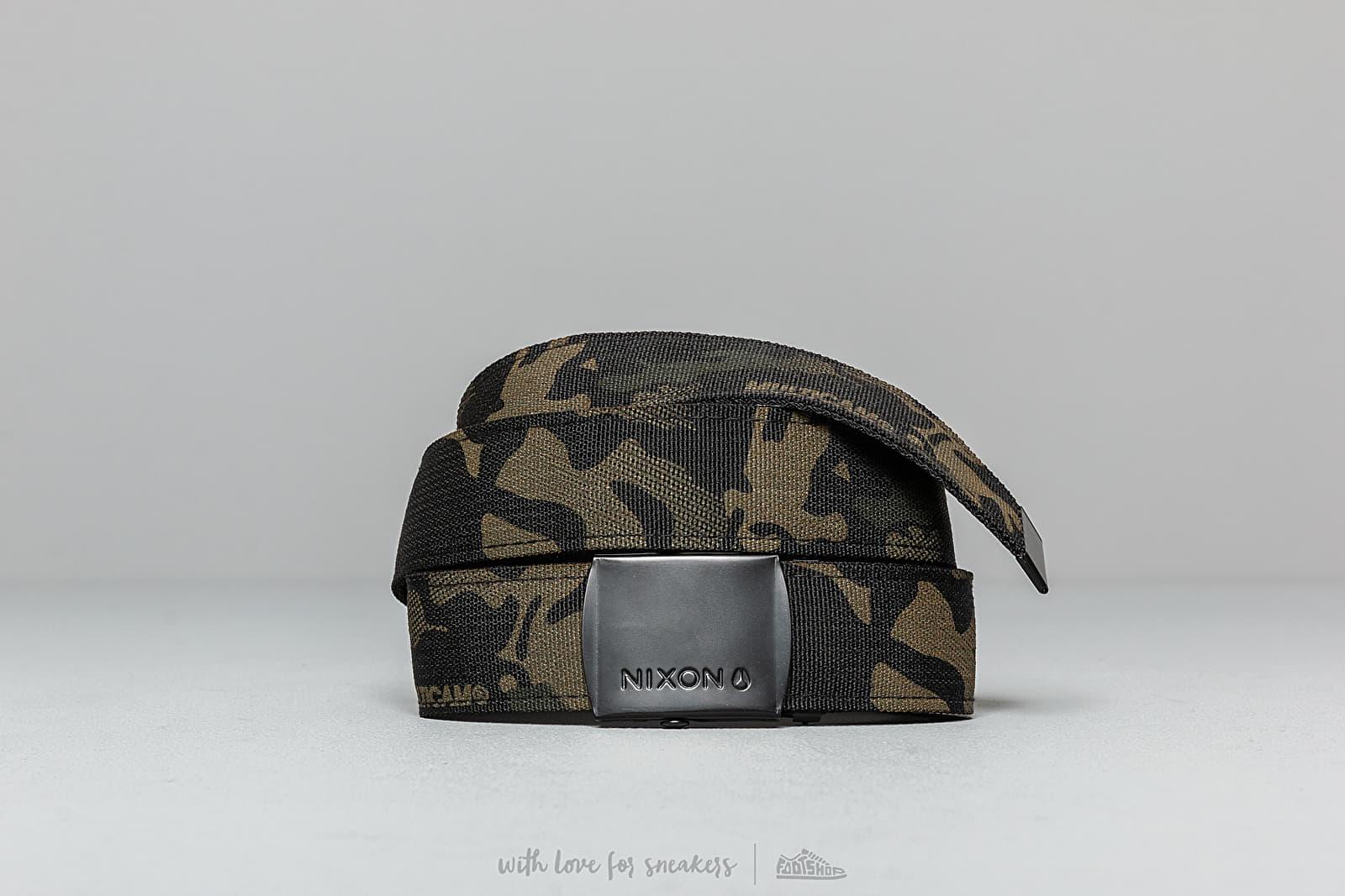 NIxon Basic Belt Multi Camo za skvelú cenu 18 € kúpite na Footshop.sk