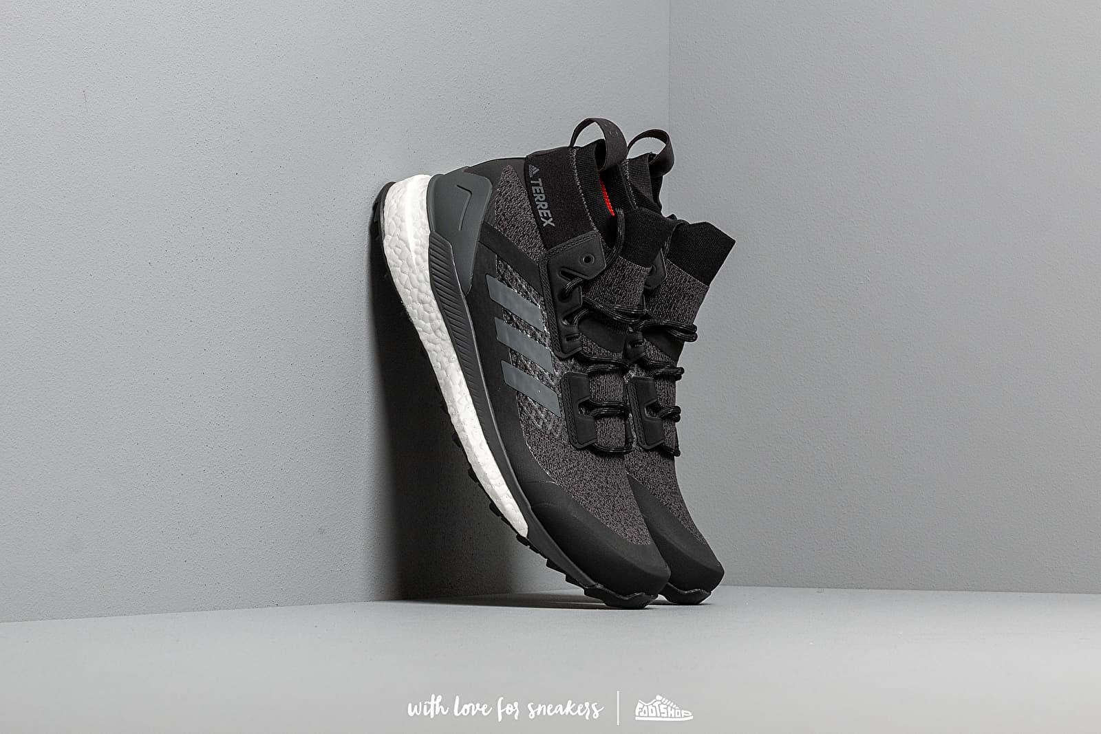 Pánske tenisky a topánky adidas Terrex Free Hiker Core Black/ Gresix/ Actora