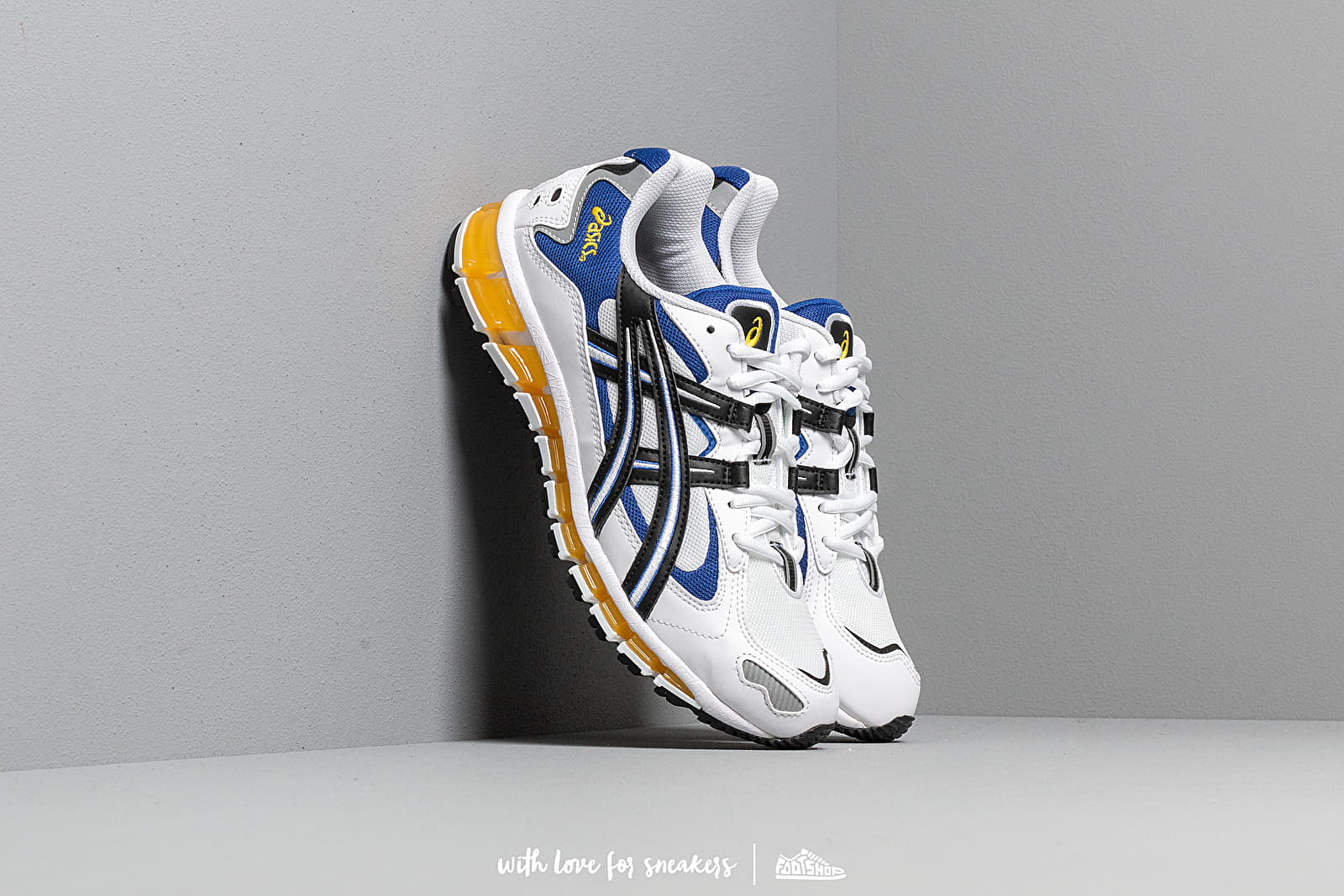 Männer Asics Gel-Kayano 5 360 White/ Black