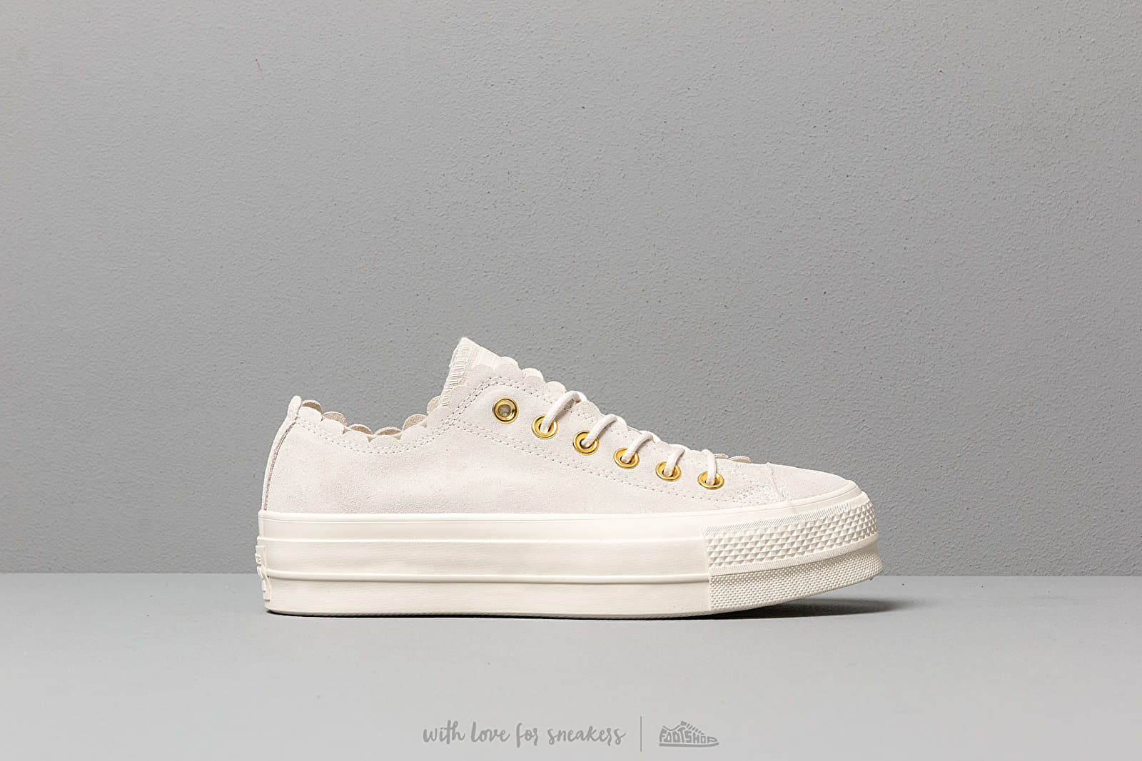 6a016d404d Converse Chuck Taylor AS Lift Scallop Bone at a great price 92 € buy at  Footshop