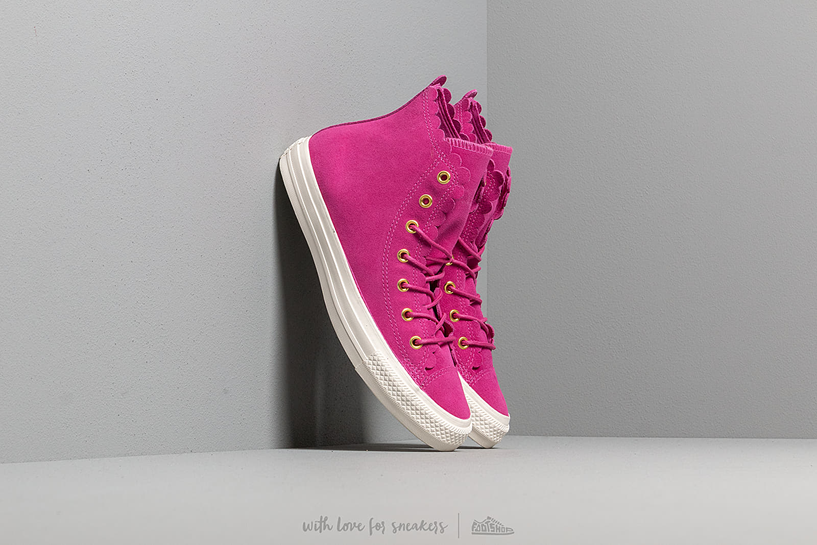 Women's shoes Converse Chuck Taylor All Star Scallop Amaranth