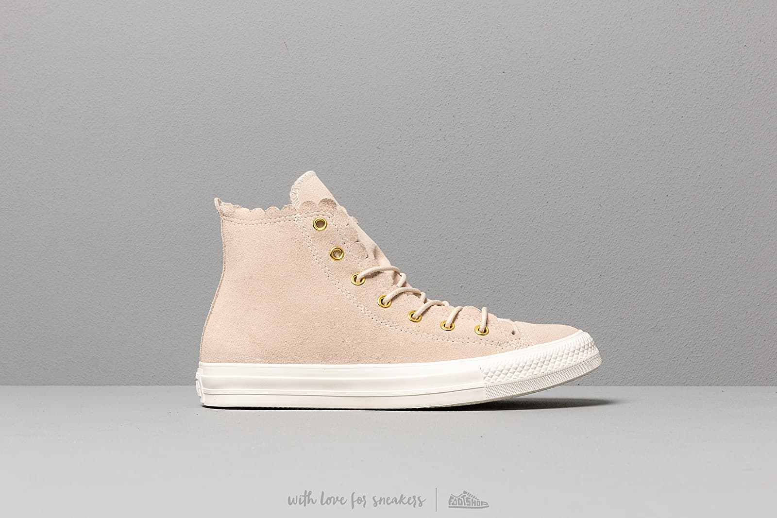 Converse Chuck Taylor All Star Scallop Natural at a great price 88 € buy at  Footshop 5ca76afe7