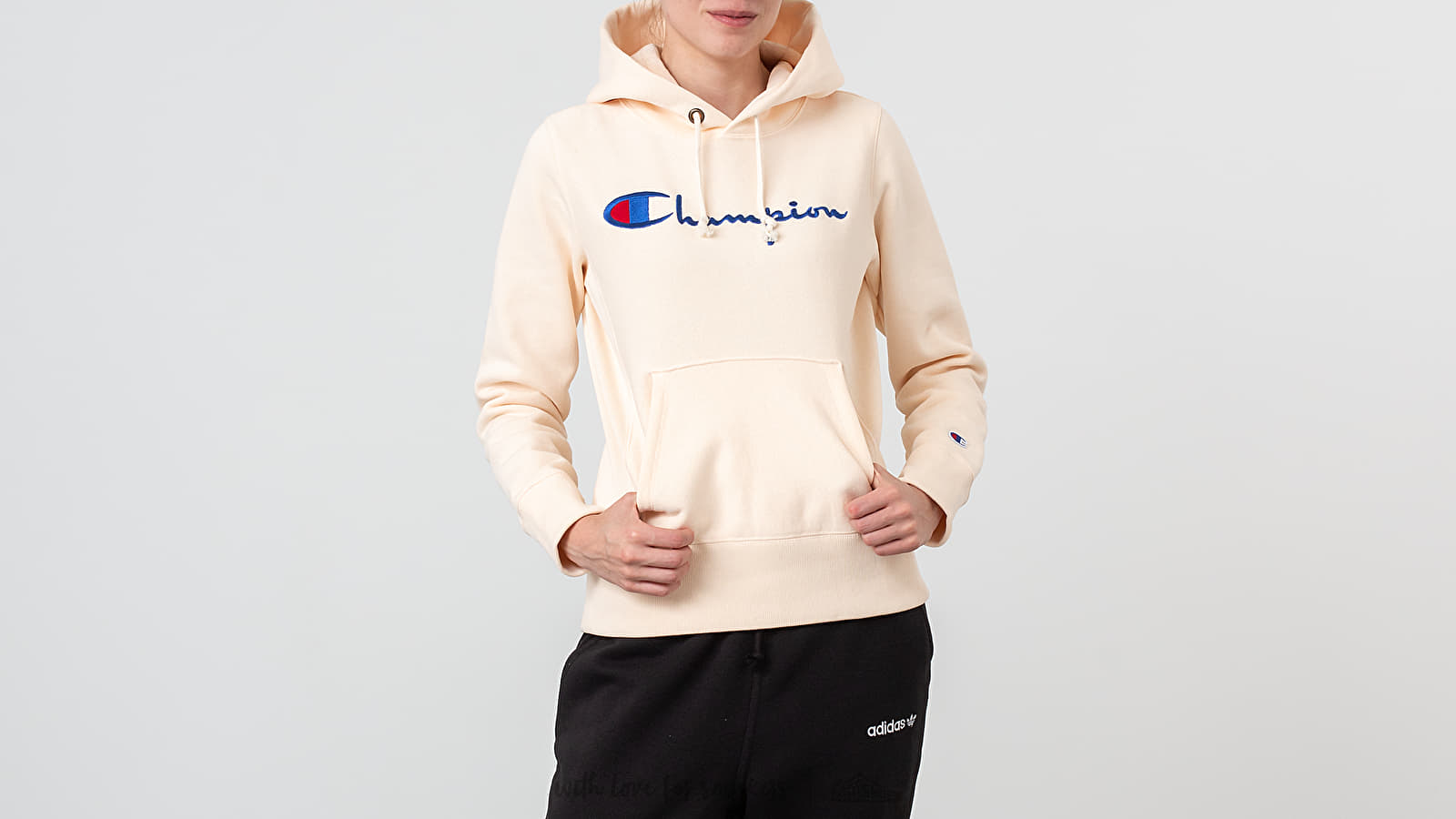 c1f560765f50 Champion Hooded Sweatshirt Peach at a great price 106 € buy at Footshop