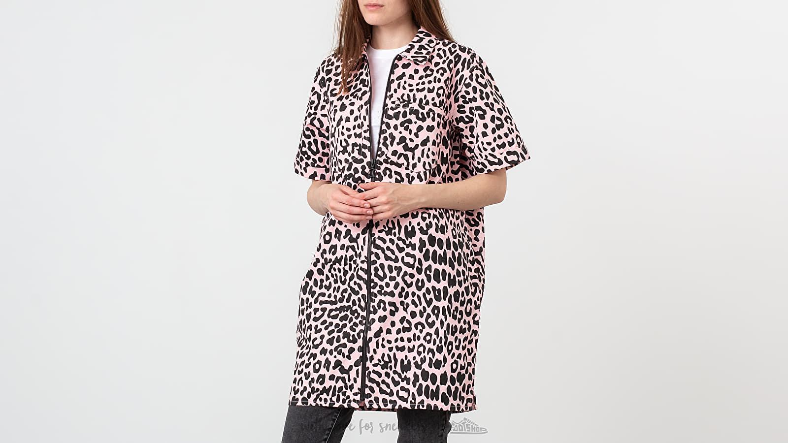 Lazy Oaf Leopard Shirt Dress