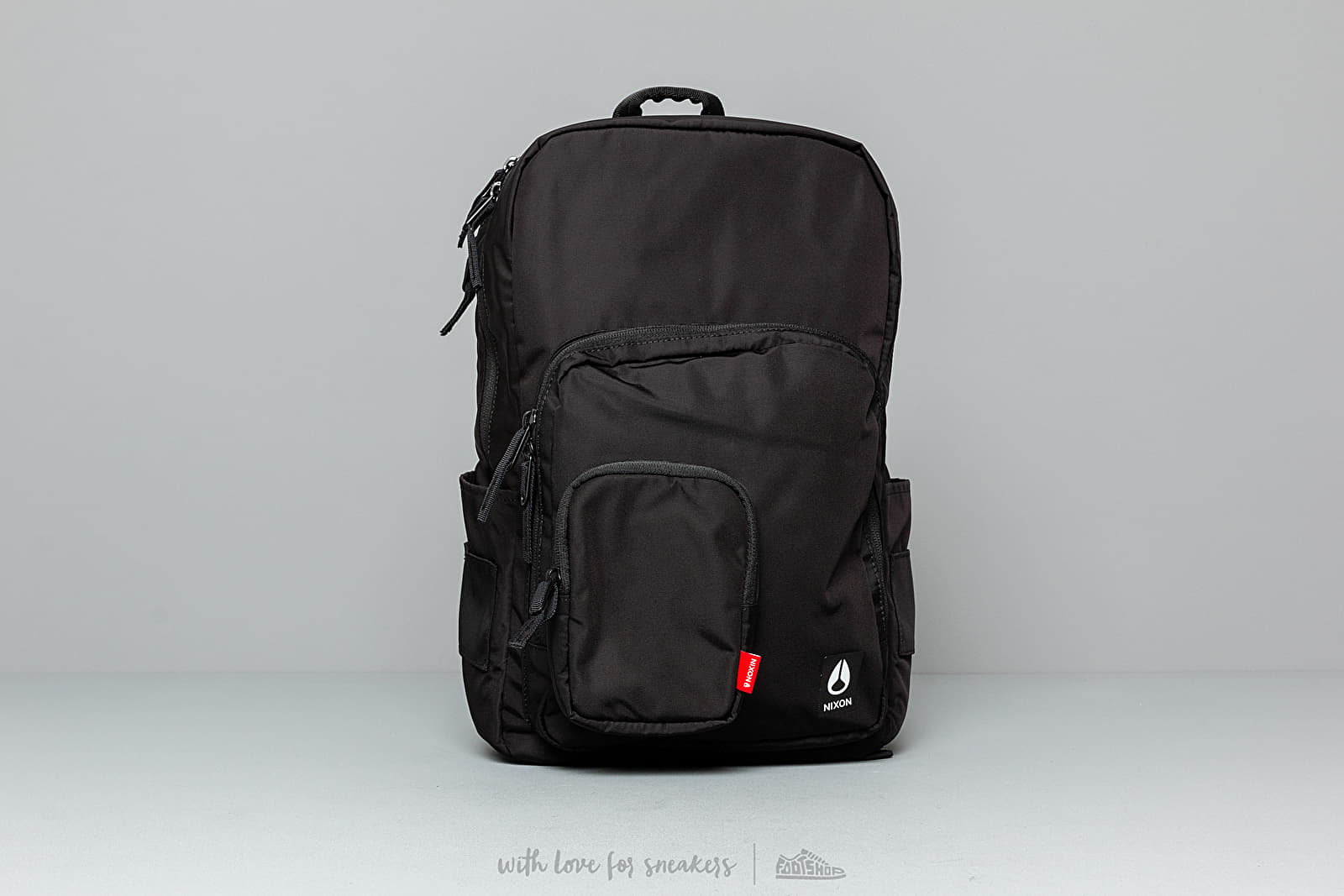 Nixon Daily Backpack All Black Nylon at a great price 65 € buy at Footshop