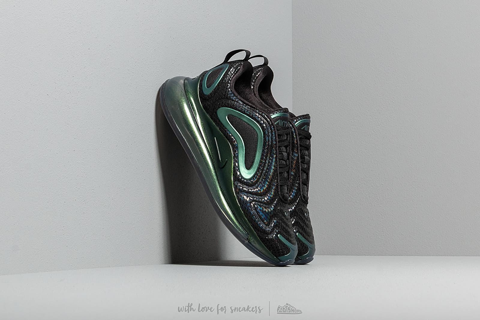 designer fashion 2cc12 cd84f Nike Air Max 720. Black  Black-Metallic Silver