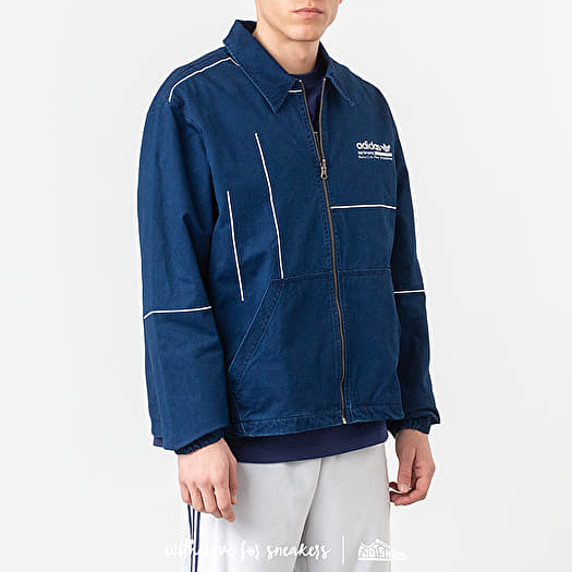 Distinguir agrio guardarropa  Jackets adidas Kaval Graphic Staple Jacket Night Indigo/ Night Marine    Footshop