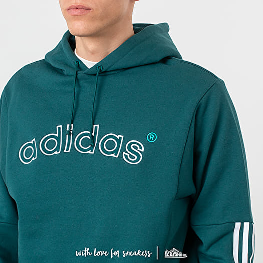 adidas Archive Sweat Hoodie Rich Green | Footshop