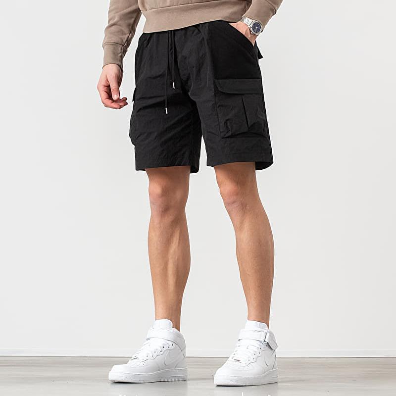 John Elliott R10 Tactical Cargo Shorts Black