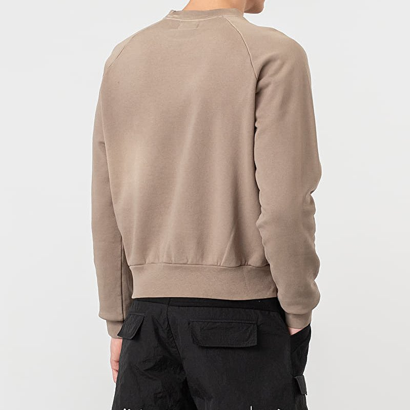 John Elliott Sundrenched Crew Pullover Taupe, Brown